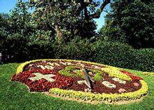 莱芒湖畔的花钟