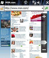 windows手机浏览器界面
